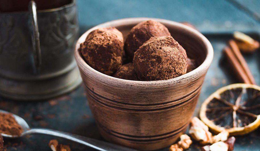 CoffeeMilk Energy Balls