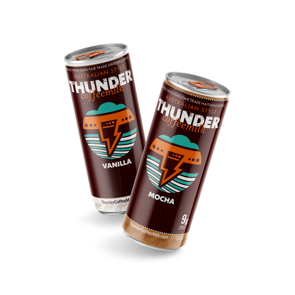 variety pack of Thunder CoffeeMilk